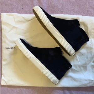 Vince Kelowna high top Chelsea sneakers